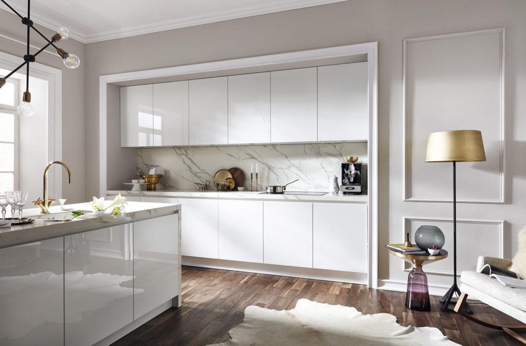Кухня, встроенная в нишу  AV 2030-GL