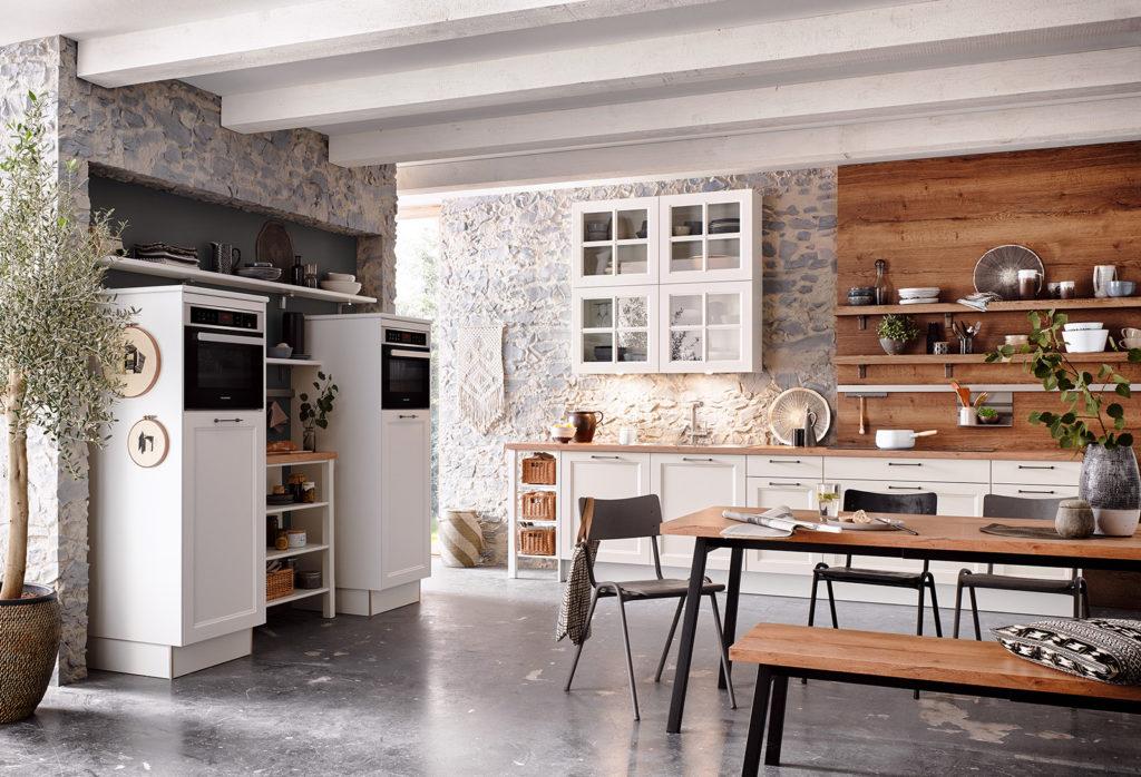 Классическая кухня с элементами лофта Malaga