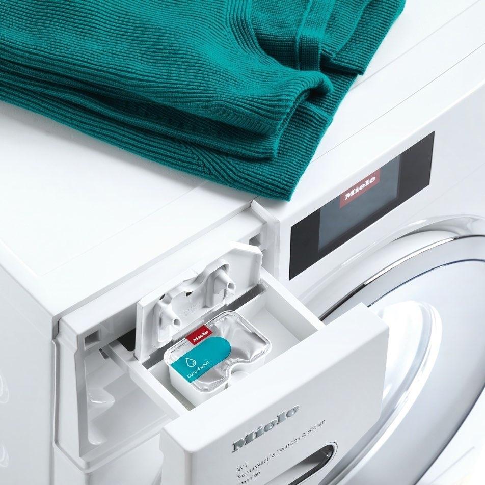 Мы надеялись и ждали, и вот наконец - Инновационное средство CottonRepair от Miele!